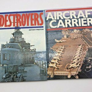 Aircraft Carriers & Destroyers by Antony Preston